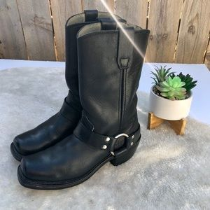 Durango   Harness Moto Leather Boots Size 6